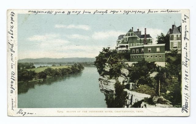 Bluffs of the Tennessee River, Chattanooga, Tenn.