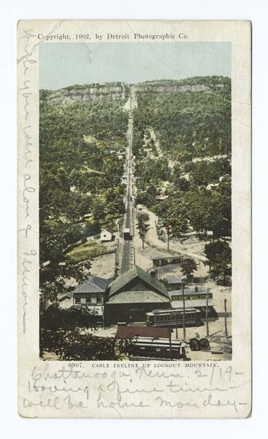 Cable Incline, Lookout Mtn.,Tenn.