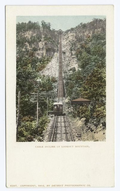 Cable Incline up, Lookout Mtn., Tenn.