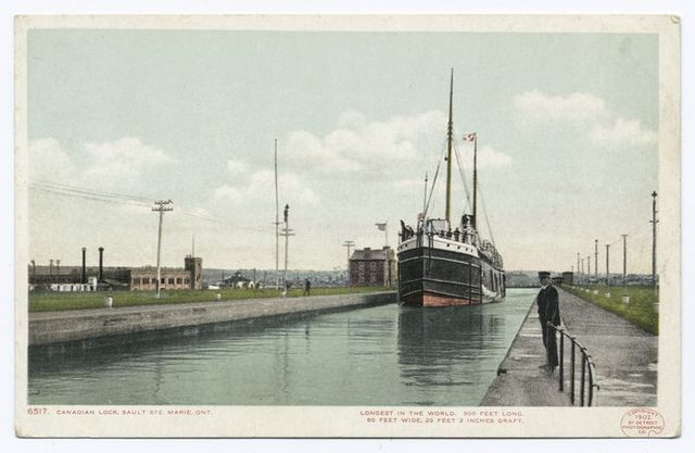 Canadian Locks, Athabasca, Sault Ste. Marie, Ont.