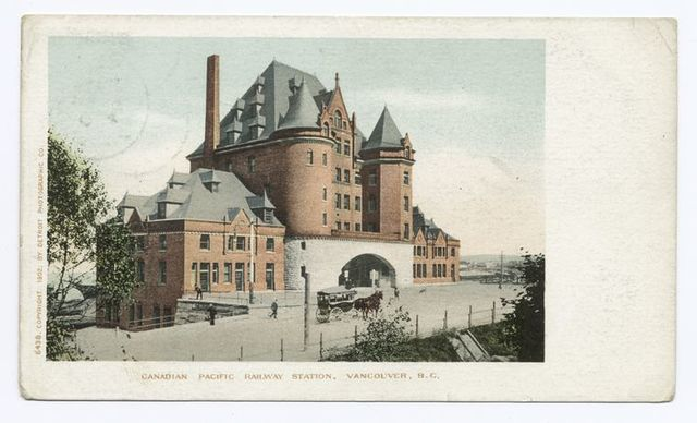 Canadian Pacific Ry. Station, Vancouver, B. C.