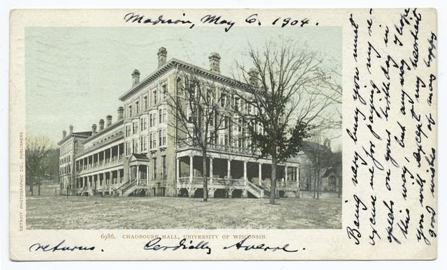 Chadburn Hall, Univ. of Wisconsin, Madison, Wisc.