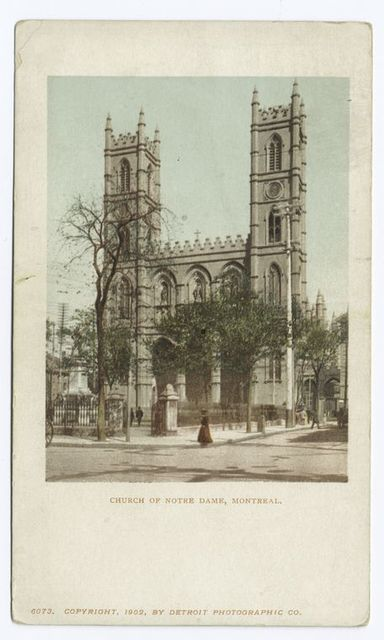 Church of Notre Dame, Montreal, P. Q.