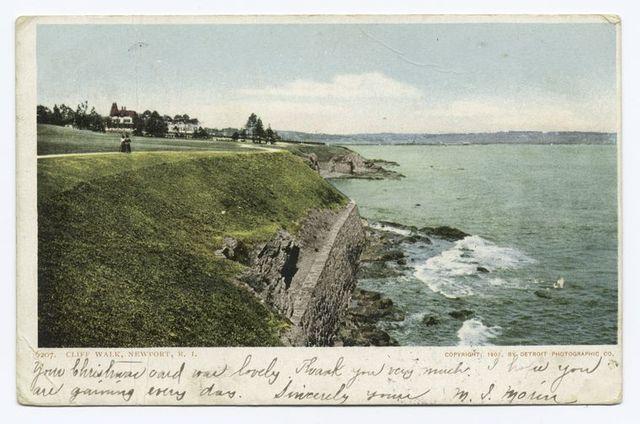 Cliff Walk, Newport, R. I.