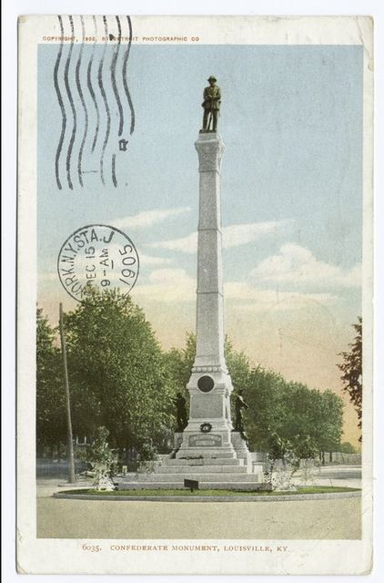 Confederate Monument, Louisville, Ky.