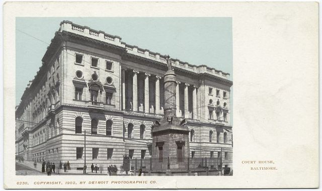 Court House, Baltimore, Md.