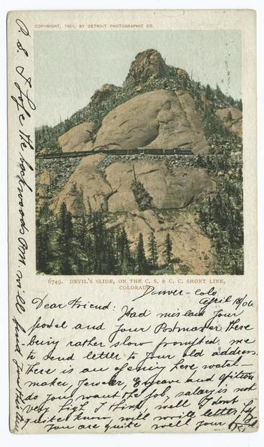 Devils Slide, Colorado Spgs., Colo.