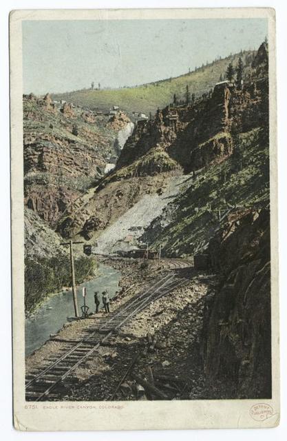 Eagle River Canyon, Colorado