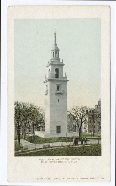 Evacuation Monument, Dorchester Hgts., Mass.