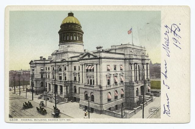 Federal Building (changed to City Hall), Kansas City, Mo.