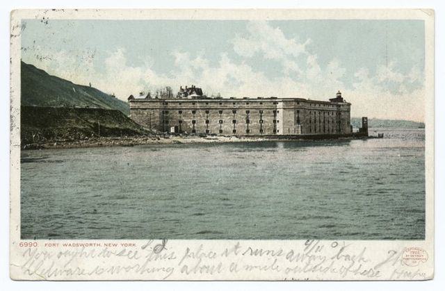 Fort Wadsworth, Staten Island, New York, N. Y.