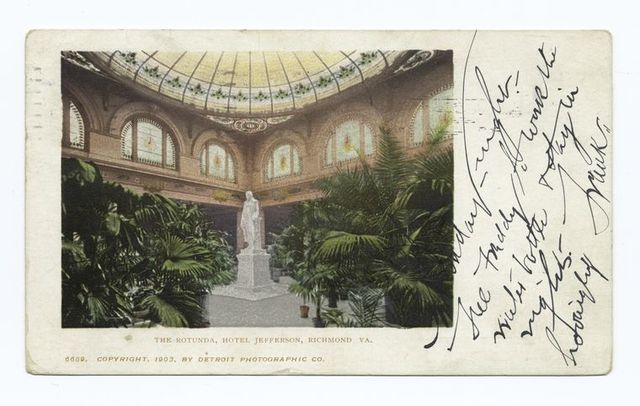 Hotel Jefferson, Rotunda, Richmond, Va.