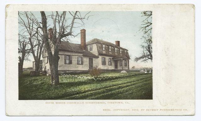 House Where Cornwallis Surrendered, Yorktown, N. Y.