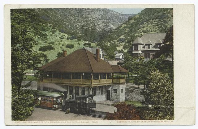 Iron Springs Station, Manitou, Colo.