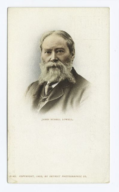James Russell Lowell, Portrait