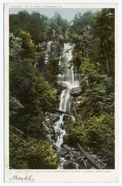 Kaaterskill Clove, Santa Cruz Falls, Catskills, N. Y.