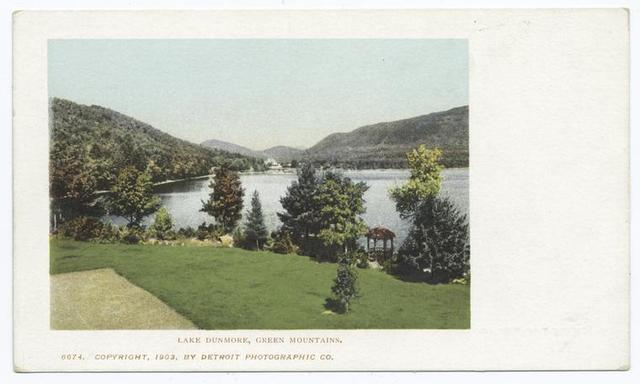 Lake Dunmore, Green Mtns., Vt.