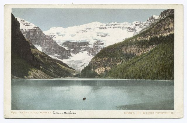 Lake Louise from Chalet, Alberta