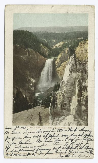 Lower Falls, Yellowstone Nat. Park