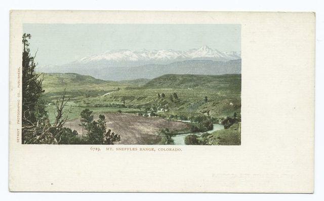 Mt. Sneffle's Range, Colorado
