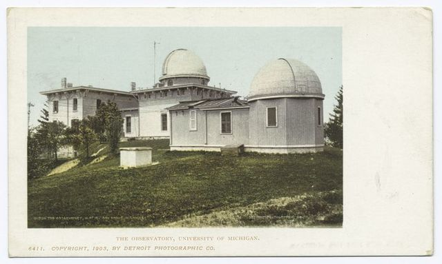 Observatory, Univ. of Mich., Ann Arbor, Mich.