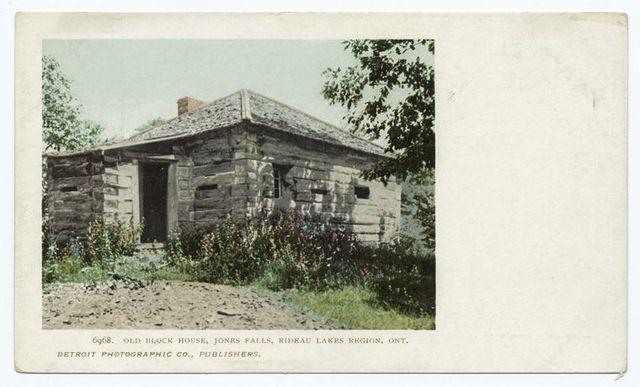 Old Block House, Jones Falls, Rideau Lakes, Ont.