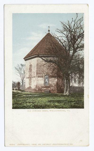 Old Powder Horn, Williamsburg, Va.