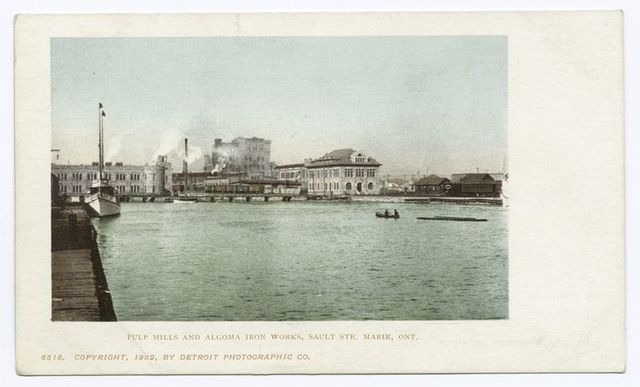 Pulp Mills and Algoma Iron Works, Sault Ste. Marie, Ont.