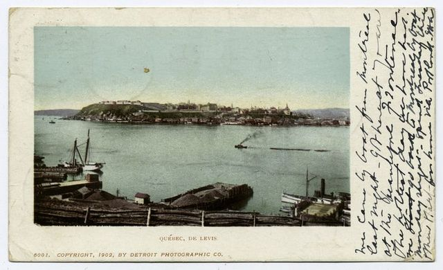 Quebec from Levies, Quebec, P. Q.
