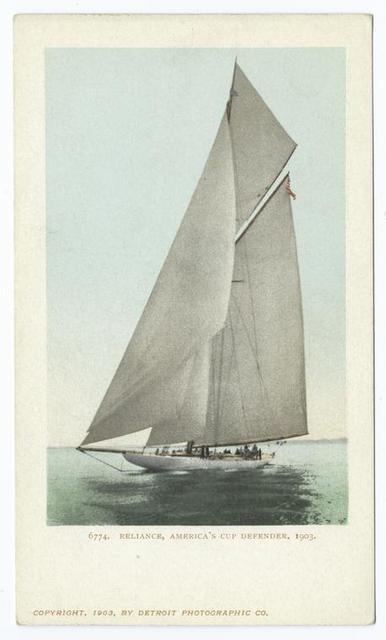 Reliance III, America's Cup Defender 1903, Yacht