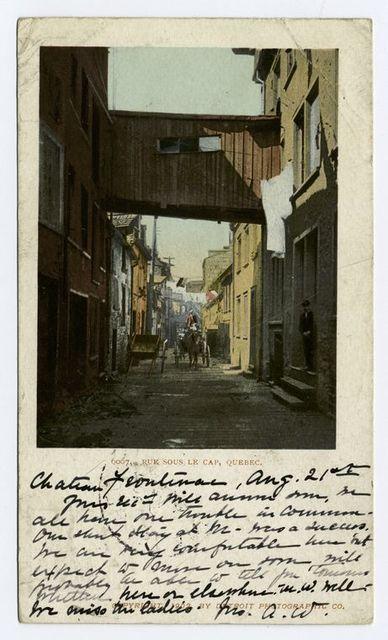 Rue Souls le Cap, Quebec, P. Q.