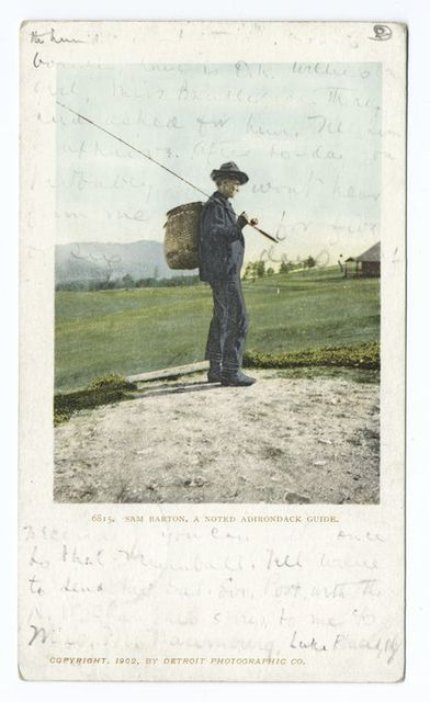 Sam Barton, Noted Guide, Adirondacks, N. Y.