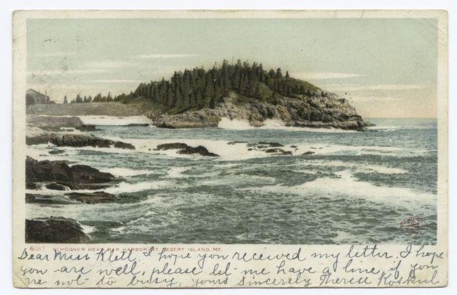 Schooner Head, Bar Harbor, Me.