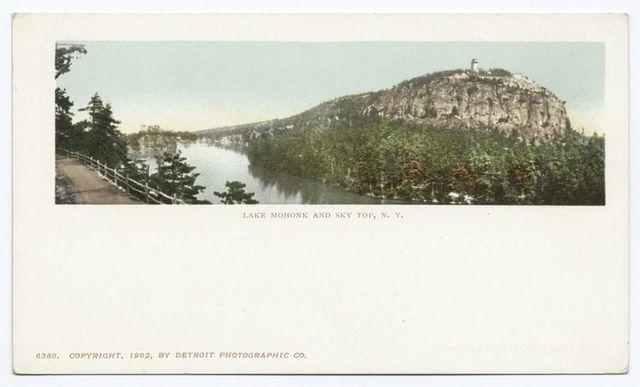 Sky Top, Lake Mohonk, N. Y.