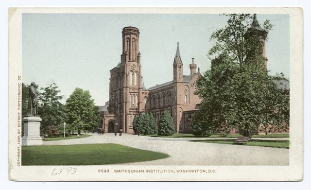 Smithsonian Institute, Washington, D. C.