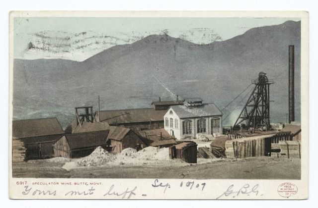 Speculator Mine, Butte, Mont.
