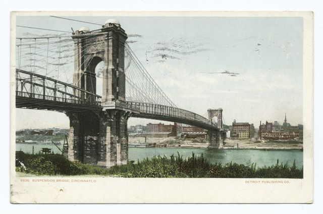 Suspension Bridge, Cincinnati, Ohio