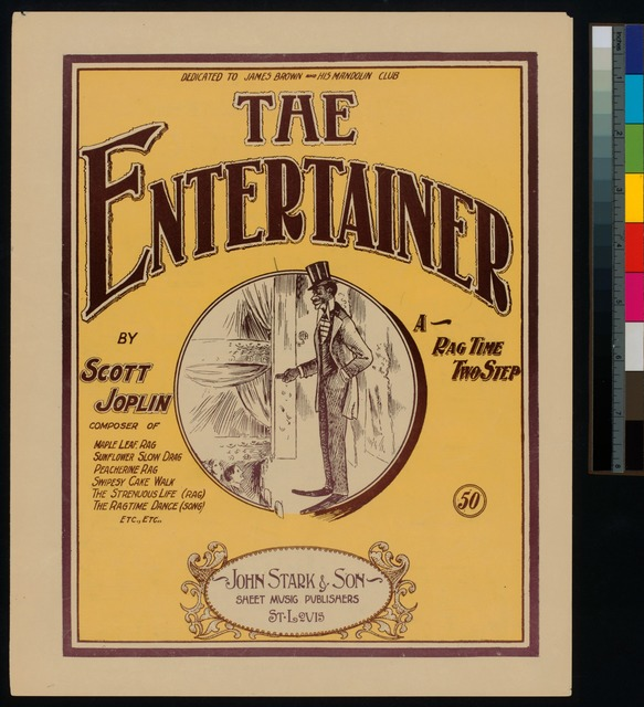 The entertainer : a rag time two step