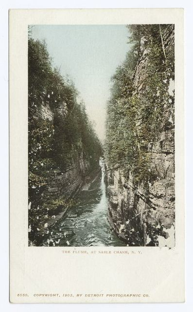 The Flume, Au Sable Chasm, N. Y.