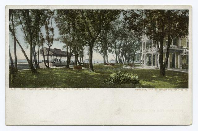 The Star Island House, St. Clair Flats, Mich.
