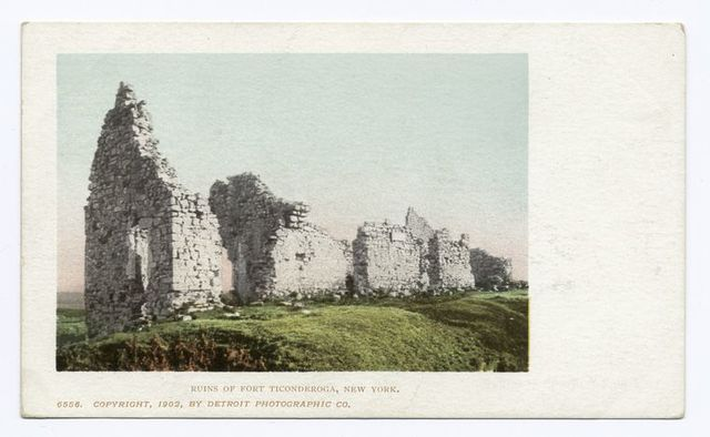 View of Ruins, Fort Ticonderoga, N. Y.