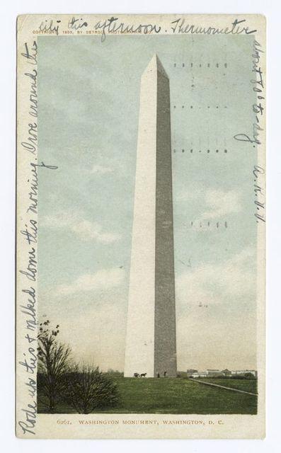 Washington Monument, Washington D. C.