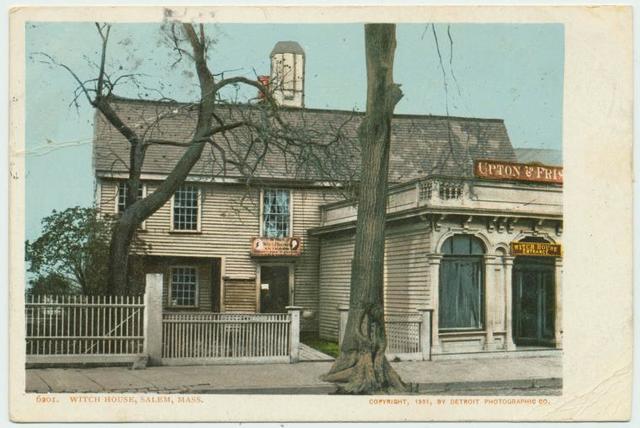 Witch House, Salem, Mass.