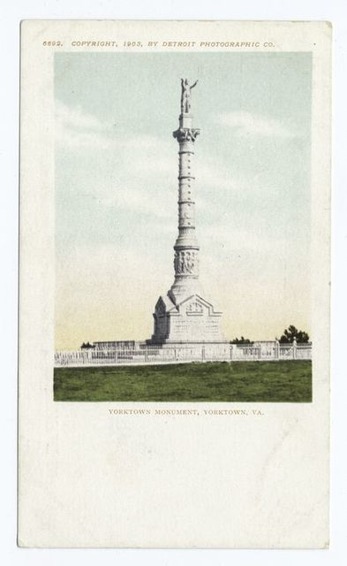 Yorktown Monument, Yorktown, Va.