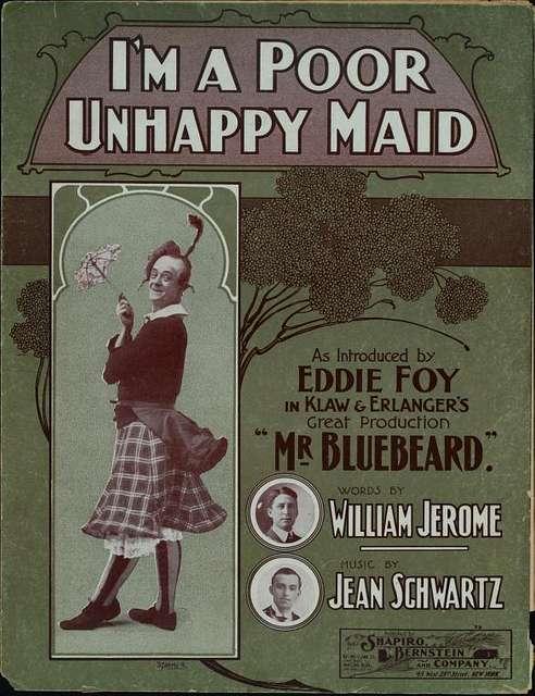I'm a poor unhappy maid