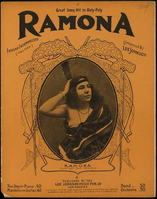 Ramona : Alessandro's love song to Ramona