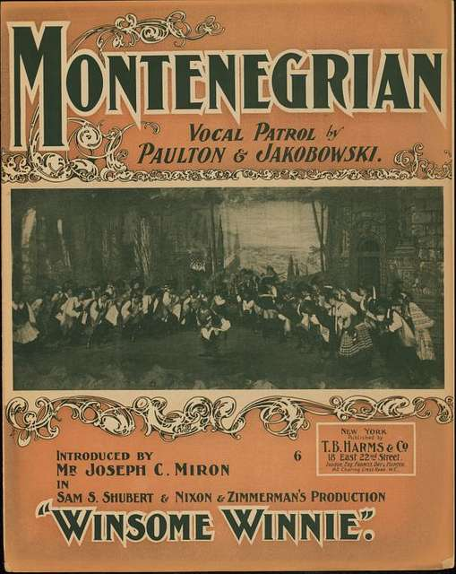 The Montenegrian patrol : song