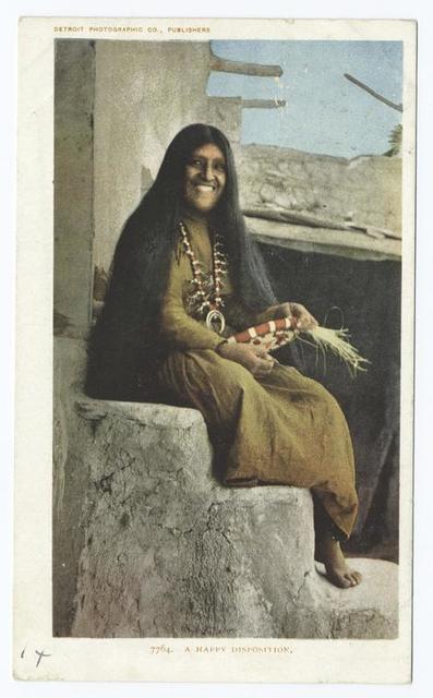 A Hopi Maiden (A Happy Disposition)