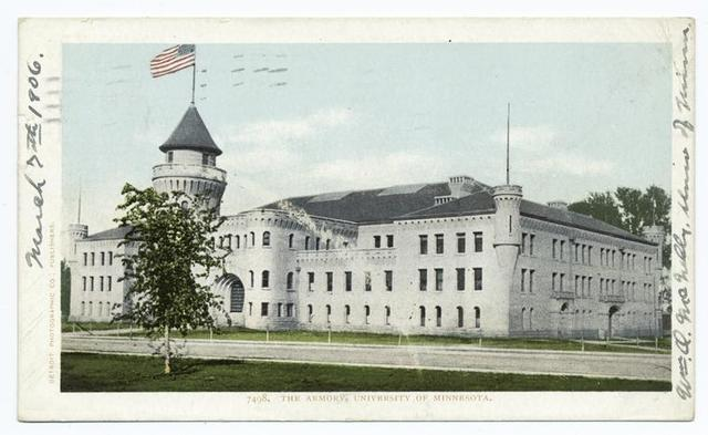 Armory, Univ. of Minnesota, Minneapolis, Minn.
