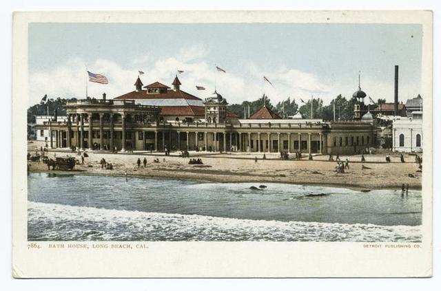Bath House, Long Beach, Calif.